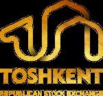 Логотип Республиканской фондовой биржи «Тошкент»